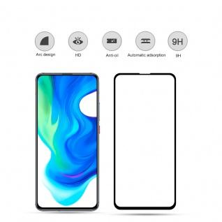 Für Xiaomi Poco F2 Pro 2x 3D Display Full H9 Hart Glas Schwarz Folie Panzer Neu