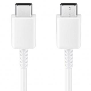 Samsung EP-DA705 USB Kabel Typ-C zu Typ C Datenkabel USB Type-C Ladekabel Weiß