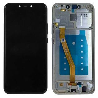 Für Huawei Mate 20 Lite Display Full LCD Touch mit Rahmen Reparatur Gold Ersatz