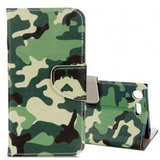 Schutzhülle Motiv 24 für Sony Xperia XZ1 G8341 G8342 Tasche Hülle Case Zubehör