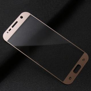 0, 3 mm H9 gebogenes Hartglas Gold Folie für Samsung Galaxy S7 G930F Hülle Neu