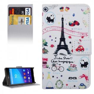 Schutzhülle Motiv 36 für Sony Xperia Z5 Compact 4.6 Zoll Bookcover Tasche Case