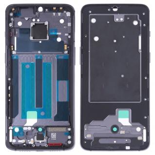 Gehäuse Rahmen Mittelrahmen Front Housing Deckel kompatibel für OnePlus 7 Grau