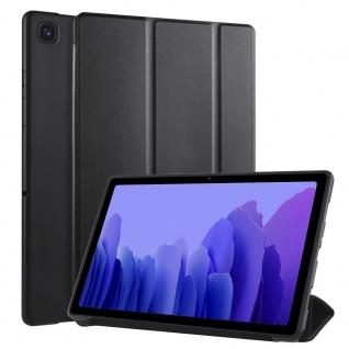 Flip Case Schwarz für Samsung Galaxy Tab A7 10.4 2020 Tasche Hülle Case Zubehör