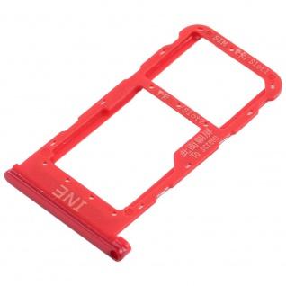 Für Huawei P Smart Plus Karten Halter Sim Tray Schlitten Holder Rot Ersatzteil - Vorschau 2