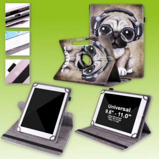Für Huawei MediaPad T5 10.1 360 Grad Rotation 5 Tablet Tasche Kunst Leder Etuis