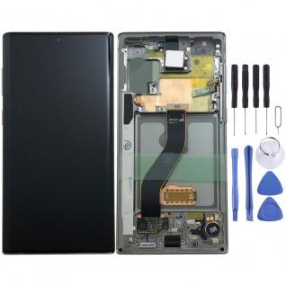 Samsung Display LCD Kompletteinheit für Galaxy Note 10 N970F GH82-20818C Silber