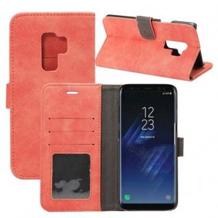 Deluxe Retro Bookcover Wallet für Smartphones Schutzhülle Cover Etui Tasche Case - Vorschau 5