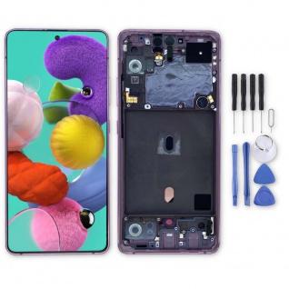 Samsung Display LCD Kompletteinheit für Galaxy A51 5G A516N GH82-23100C Pink Neu