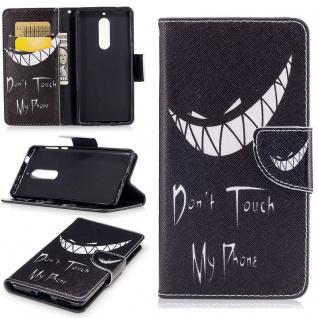 Tasche Wallet Motiv 32 für Nokia 5 Hülle Case Etui Cover Schutz Zubehör Premium