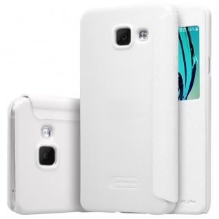 Nillkin Window Smartcover Weiß für Samsung Galaxy A3 2016 A310F Tasche Cover Neu