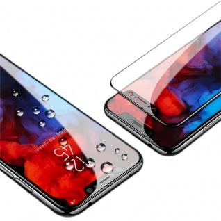 Für Xiaomi POCO F1 2x 3D Display 0, 3 mm H9 Hart Glas Schwarz Schutz Hülle Folie