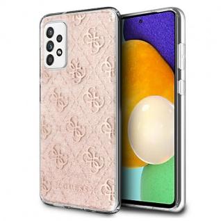Guess Samsung Galaxy A32 5G Pink Glitter Hard Case Cover Schutzhülle Zubehör