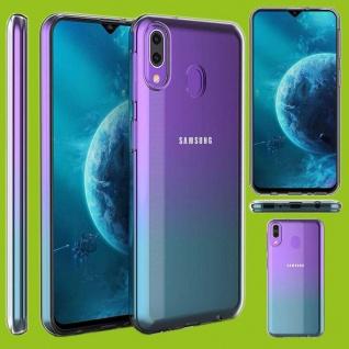 Für Samsung Galaxy M20 Silikoncase TPU Schutz Transparent Tasche Hülle Etuis Neu