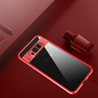 Original ROCK Bumper Case für Samsung Galaxy S8 Plus G955F Tasche Hülle Etui Rot