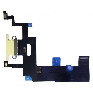 Dock Charger Ladebuchse für Apple iPhone XR 6.1 Gelb Ersatz Reparatur Zubehör