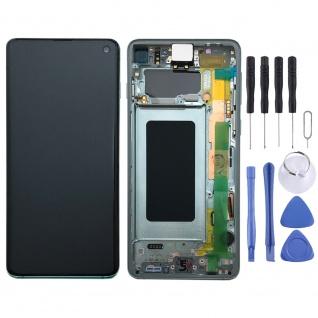 Samsung Display Full LCD Komplettset GH82-18850E Grün für Galaxy S10 G973F 6.1