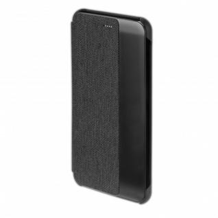 CHELSEA Smart Cover Fenster für Huawei P10 Plus Tasche Schutzhülle Hülle Schwarz