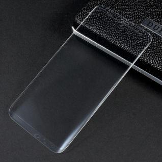 0, 3 mm H9 gebogenes Hart Glas Transparent Folie für Samsung Galaxy S8 G950F Neu