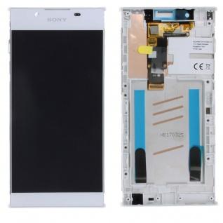 Sony Display LCD Komplett mit Rahmen für Xperia L1 G3311 G3312 G3313 Weiß Ersatz