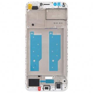 Gehäuse Rahmen Mittelrahmen Deckel für Huawei Y7 2018 Weiß Reparatur Ersatz Neu - Vorschau 3