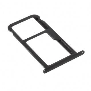 Für Huawei P10 Lite Sim Karten Halter Sim Tray Sim Schlitten Sim Holder Schwarz
