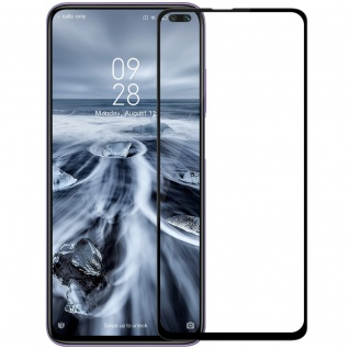 Für Samsung Galaxy A71 A715 2x 3D Display Full H9 Hart Glas Schwarz Folie Panzer