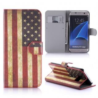 Schutzhülle Muster 10 für Samsung Galaxy S7 Edge G935F Tasche Cover Case Hülle