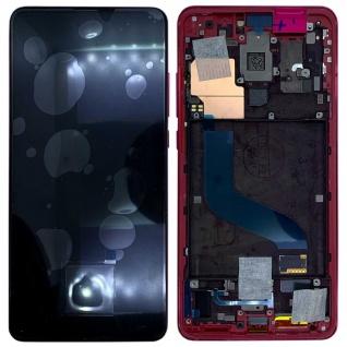 Für Xiaomi Mi 9T / 9T Pro Display Full OLED LCD mit Rahmen Reparatur Ersatz Rot