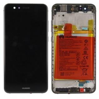 Huawei Display LCD Einheit Rahmen für P10 Lite Service Pack 02351FSE Schwarz Neu