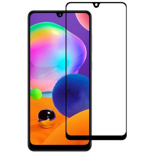 Samsung Galaxy A32 5G 2x 3D Display Full LCD H9 Hart Glas Schwarz Folie Panzer