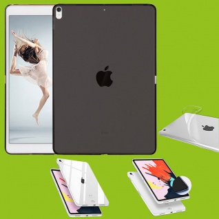 Für Apple iPad Pro 11.0 Zoll 2018 Schwarz Tasche Hülle Case Cover TPU Silikon