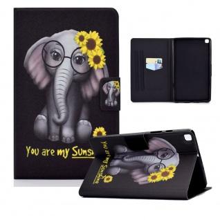 Für Samsung Galaxy Tab A 10.1 2019 T510 Motiv 85 Tablet Tasche Kunst Leder Etuis