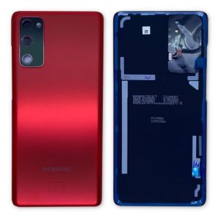 Samsung Akku Deckel Batterie Cover Galaxy S20 FE GH82-24263E Cloud Red / Rot
