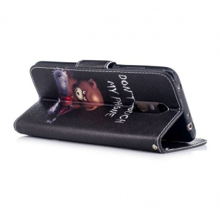 Für Huawei P Smart Plus Kunstleder Tasche Book Motiv 30 Schutz Hülle Case Cover - Vorschau 2