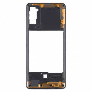 Mittelrahmen Samsung Galaxy A41 Schwarz LCD Rahmen Gehäuse Zubehör Ersatzteil - Vorschau 3
