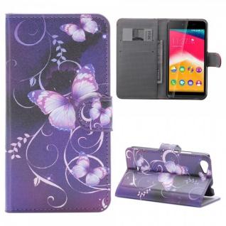 Schutzhülle Muster 45 für Wiko Rainbow Jam Bookcover Tasche Hülle Wallet Case