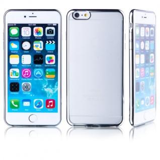 Premium TPU Schutzhülle Silber für Apple iPhone 6 6S Plus 5.5 Case Cover Tasche