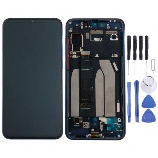 Für Xiaomi Mi 9 SE Display Full OLED LCD Touch mit Rahmen Ersatz Reparatur Blau