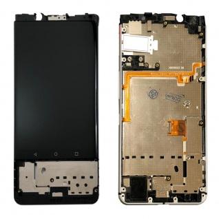 Für Blackberry KEYone Display Full LCD Touch mit Rahmen Reparatur Schwarz Neu - Vorschau 2