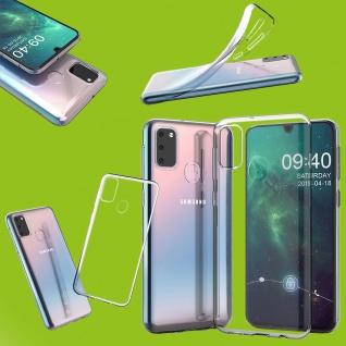 Für Samsung Galaxy M30s Silikon TPU Schutz Transparent Handy Tasche Hülle Etuis