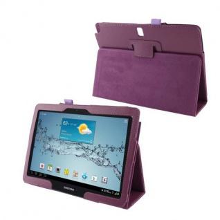 Schutzhülle Kunstleder Tasche für Tablet eBook PDA Smart Cover Hülle Case Etui - Vorschau 3