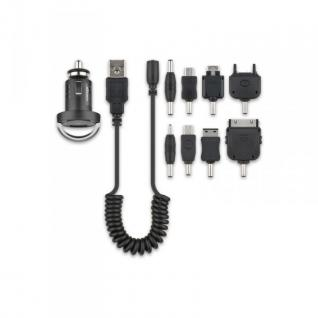 Universall Autoladegerät Adpater SET für Apple Sony HTC LG BlackBerry Car Charger Zubehör