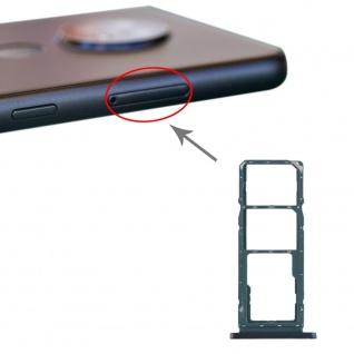 Für Nokia 7.2 / 6.2 SIM + SIM + Micro SD Karten Halter Card Tray Grün Ersatz Neu