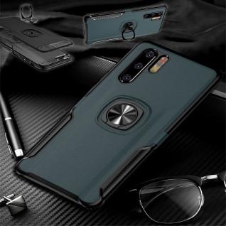 Für Samsung Galaxy A40 5.9 Magnet Metall Ring Hybrid Navy Tasche Hülle Etuis Neu