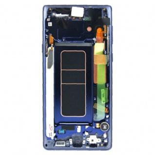 Samsung Display LCD Komplettset GH97-22269B Blau für Galaxy Note 9 N960F Ersatz - Vorschau 2