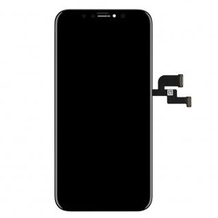 Display LCD OLED für iPhone X / 10 Schwarz Komplett Einheit Touch Ersatzteil - Vorschau 2