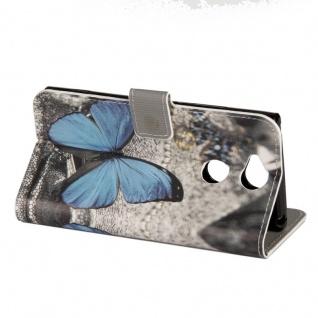 Tasche Wallet Book Cover Motiv 21 für Sony Xperia XA2 Hülle Case Etui Schutz Neu - Vorschau 4