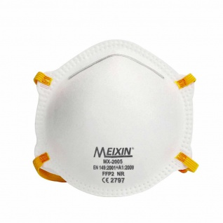 100x MEIXIN Hochwertige Medizinische Atem Schutzmaske Atemschutzmaske FFP2 Schutz Maske Zubehör Neu - Vorschau 2