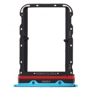 Für Xiaomi Mi 10 Card Tray Sim Karten Halter Blau Ersatzteil Zubehör Reparatur